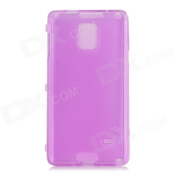 все цены на Protective Flip-Open TPU + Silicone Case for Samsung Galaxy Note 4 (N9100) - Transparent Purple