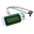 "Geeetech LCD2004 Smart Controller 3"" STN LCD Display Module for 3D Printers - White + Green"