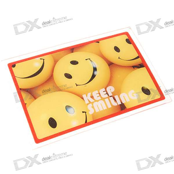 PVC Vehicle Anti-Slip Mat - Smile Faces