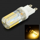 G9 3W 260lm 3000K 64-SMD 3014 LED Warm White Light com Adaptador E27 a G9-Branco + Bege (AC 220V)