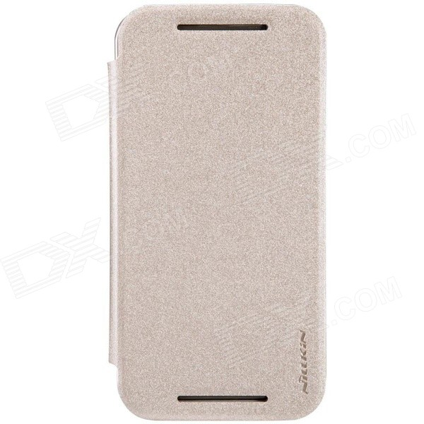 NILLKIN Star Series Protective PU Leather Case for MOTO G2 - Champagne Gold цена