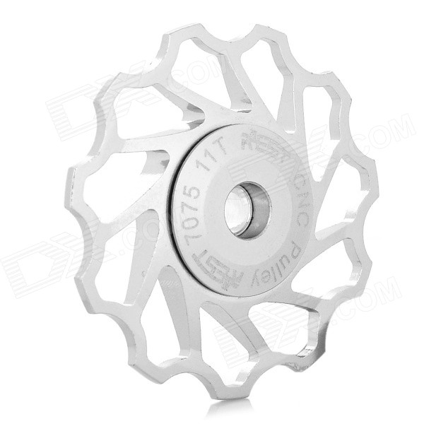 AEST AEST-14 Aluminum Alloy 11-Axis Bike Rear Wheel Bearing Pulley - Silver