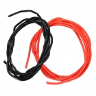 Universal 20AWG Soft Silicone Wire for R/C Toy - Black + Red (2 PCS)
