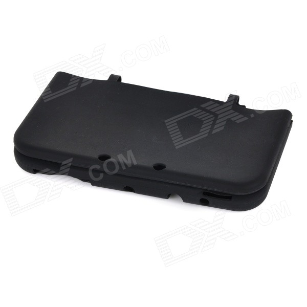 Silicone Protective Case Cover Shell for NEW 3DSXL - Black