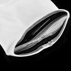 Basketball Playing Nylon+Spandex+Polyester Elastic Arm Guard - White