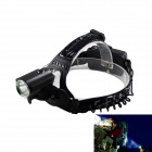 Kinfire KF-Y7 700lm 3-Mode White Outdoor LED Headlamp - Black (2 x 18650)