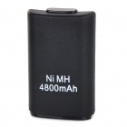 500mAh Ni-MH Battery + Cable for XBOX 360 Controller + More - Black