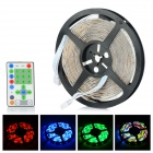 G1-150 Water-resistant 36W 1200lm 150-SMD 5050 LED RGB Horse Race Light Strip - White (5M / DC 12V)