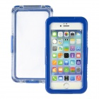 "Waterproof Drop Protective Plastic + Silicone Shell Case for IPHONE 6 PLUS 5.5"" - Blue"