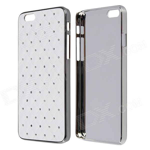 Diamond Crystal Rhinestone Style Protective PC Back Case for IPHONE 6 4.7 - White