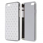 "Diamond Crystal Rhinestone Style Protective PC Back Case for IPHONE 6 4.7"" - White"