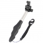 HGYBEST 3-in-1 Monopod for Camera + GoPro Hero / SJ4000 + IPHONE / Samsung - Black
