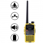 Baiston 588Plus 1.5'' 8W 2-Way Radio Dual Band UHF/VHF Walkie Talkie Set - Yellow
