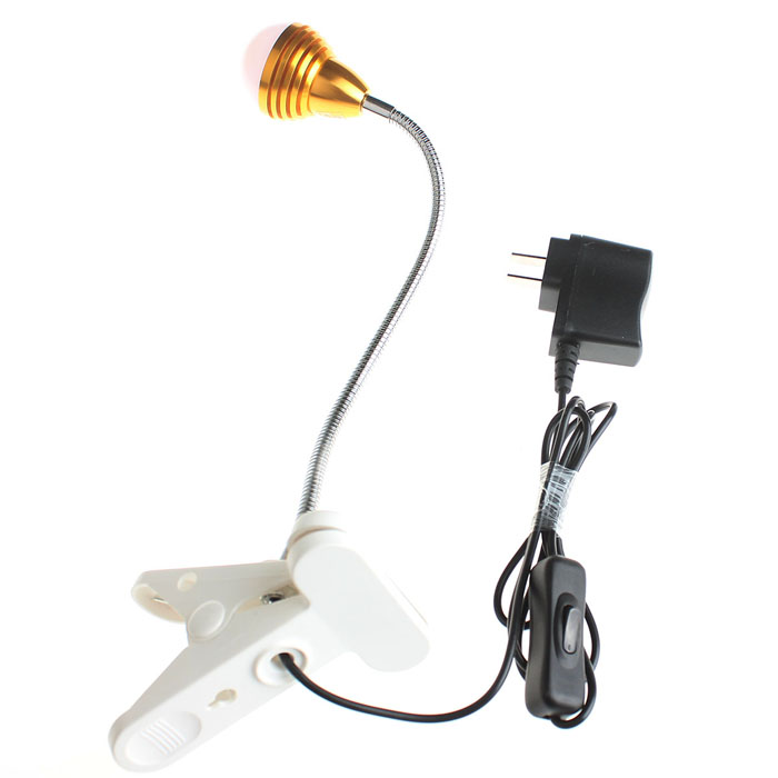 Zweihnder CMY-36 5W 480lm 3500K COB Warm White Light Table Lamp w/ Switch (100~240V)
