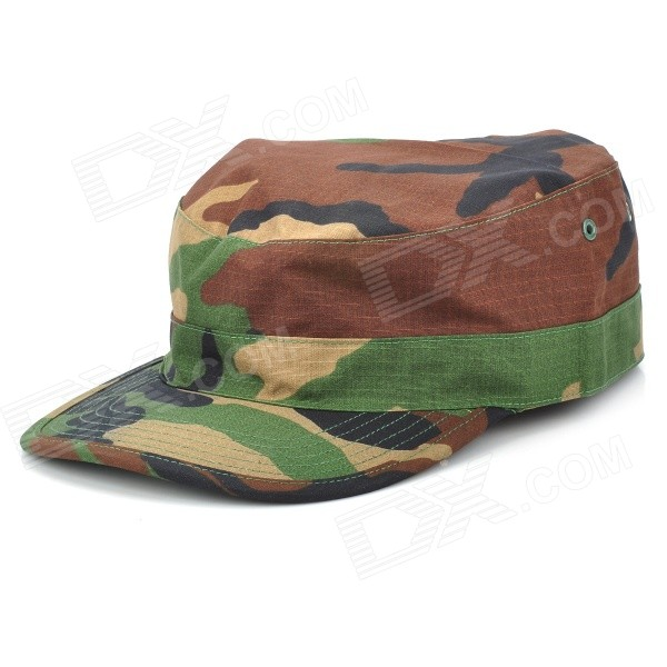 Men's Outdoor Sport Hiking Cotton Peaked Cap - Camouflage