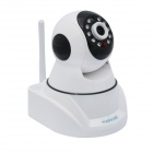 "WANSCAM HW0030 1/4 ""CMOS 1.0MP Startpagina IP Camera w / Wi-Fi, 10-LED IR Night Vision, EU Plug"