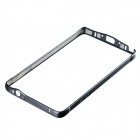 LOVEMEI Ultra-Slim Aluminum Alloy Bumper Frame Case for Samsung Galaxy Note 4 - Black