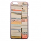 "My Colorful Books Pattern Protective PC Back Case for IPHONE 6 4.7"" - Multicolored"