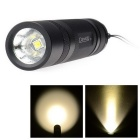 Convoy S2 + 925lm 2-Gruppe 3/5-Mode LED Taschenlampe w / Cree XM-L2 T5-5B - Schwarz (1 x 18650)