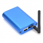 VS-M5 Car Intelligent Screen Mirroring Wi-Fi Box Compatible with Airplay Mirror / Miracast - Blue