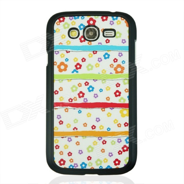 Little Flower Pattern Plastic Back Case for Samsung Galaxy Grand  i9082 - White + Pink waterman w1929702