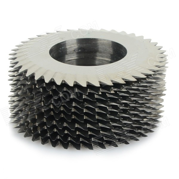 Professional Toothed Tungsten Steel Cutting Saw Blades - Silver (51 x 40T x 20 / 10 PCS)