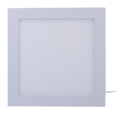 JRLED 18W 1600lm 6500K 90-SMD 2835 LED lámpara de luz de panel cuadrado blanco