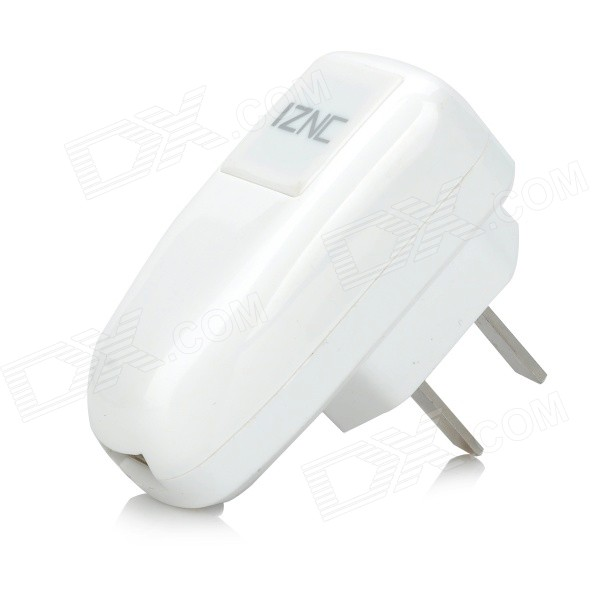 iznc znc-015 AC Power Adapter + Micro USB Charging Data Cable Set - White (US Plug) iznc znc 021 universal dual usb ac power charger adapter for iphone ipad white us plug