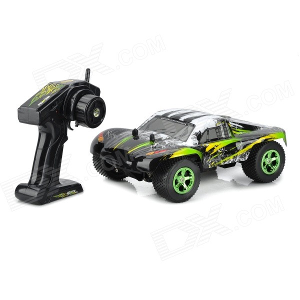 NanSheng 8807G 1:12 Scale 3-CH 2.4GHz High Speed R/C Cross-Country Car - Black + Silvery White nansheng 8807g 1 12 scale 3 ch 2 4ghz high speed r c cross country car silver black