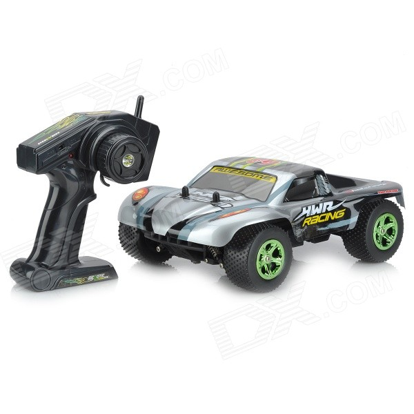NanSheng 8807G 1:12 Scale 3-CH 2.4GHz High Speed R/C Cross-Country Car - Silver + Black nansheng 8807g 1 12 scale 3 ch 2 4ghz high speed r c cross country car silver black