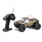 NanSheng 8803A 1:16 Scale 3-CH 27MHz High Speed R/C Cross-Country Car - Golden + Black