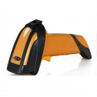 SC-196 USB Wired Handheld Laser Barcode Scanner - Black + Yellow