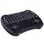 AOLUGUYA 2.4GHz Mini Wireless 72-Key QWERTY Keyboard with Touchpad - Black