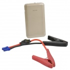 14000mAh 12V voiture d'urgence lanceur Jump Starter Power Bank w / LED torche - or Champagne