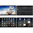 "AMPE A92 Android 4.4 A33 Quad Core Tablet PC w / 9 "", 8 GB ROM, WiFi, Dual Camera - Wit"
