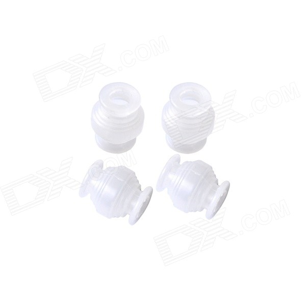 Walkera G-3D-Z-09(M) Replacement Damping Ball for G-3D Camera Gimble - White (4 PCS) walkera g 2d camera gimbal for ilook ilook gopro 3 plastic version