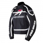 PRO-BIKER JK-09 Professional Fall Protection Motorcycle Riding Racing Wear Jacket - Black (XXL)