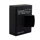 Amkov NB4U Replacement 1150mAh Rechargeable Li-ion Battery for SJ5000 Sports Camera - Black