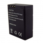 Amkov NB4U 1150mAh Rechargeable Li-ion Battery for SJ5000 - Black