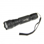 FandyFire WF-501B 900lm 5-Mode White LED Flashlight - Black (1 x 18650)
