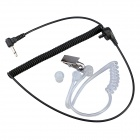 Baiston HW01 3.5mm Air Duct Headset für Handy / Computer / MP3 / MP4 - Black + Transparent