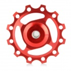 Bike Bicycle 12T Aluminum Alloy Wheels Rear Derailleur Pulley - Red