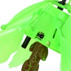 Toylife TL8188 2.4GHz 2-CH Rose en forme de R / C Toy Flying W / Gyro - Rouge + vert + Multi-couleur (6 x AA)
