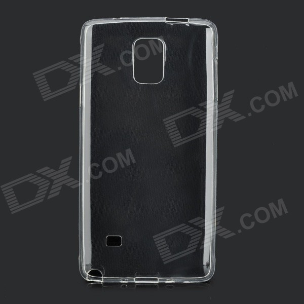 Protective Ultra-Slim TPU Back Case for Samsung Galaxy Note 4 - Transparent