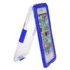 "6-Meter Underwater Protective Waterproof Case for IPHONE 6 PLUS 5.5"" - Blue + Transparent"