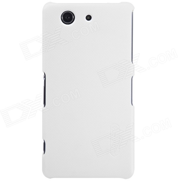 NILLKIN Matte Protective PC Back Cover Case for Sony Xperia Z3 Compact - White