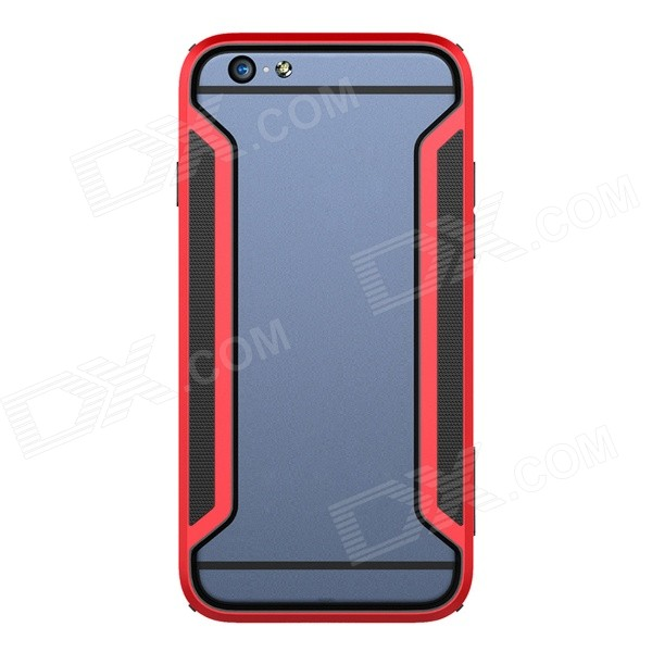 NILLKIN Protective PC + TPU Bumper Frame Case for IPHONE6 PLUS 5.5 - Red protective tpu   pc bumper frame for lg