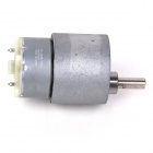 ZnDiy-BRY 37mm 12V DC 100RPM High Torque Gear Box Electric Motor - Silver