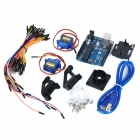 KEYES Servo Control Learning Kit for Arduino - White + Black (Works with Official Arduino Boards)