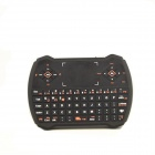 2.4GHz Wireless Keyboard w/ Touchpad Mini Player Remote Control Keyboard for PC, PS3 - Black